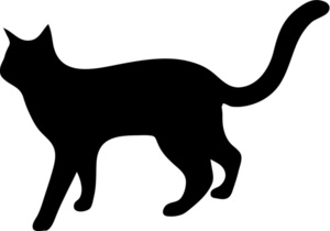 Dog And Cat Silhouette Clip Art Free.