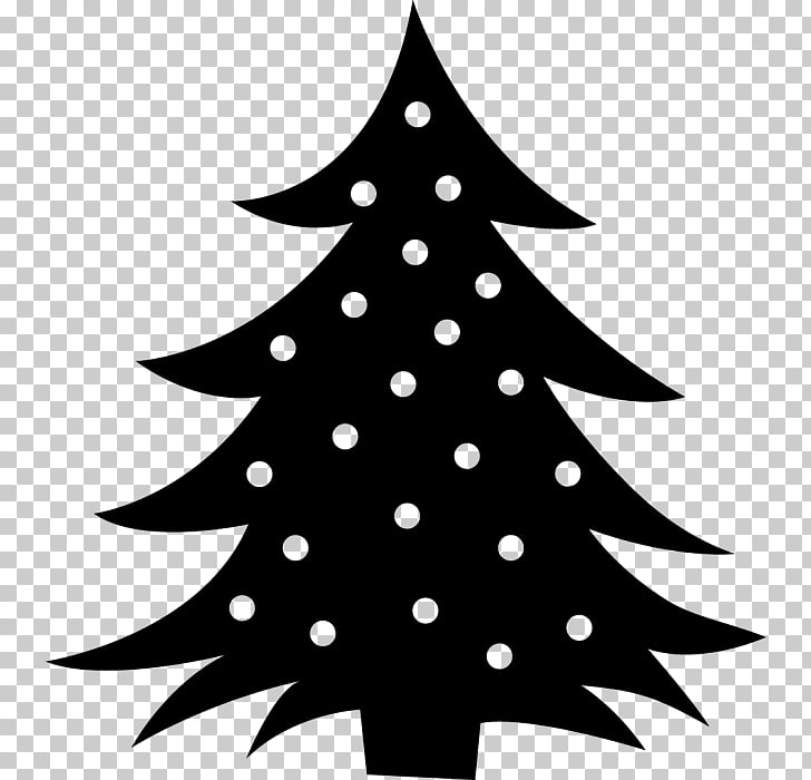 Christmas tree Silhouette Photography, christmas tree PNG.