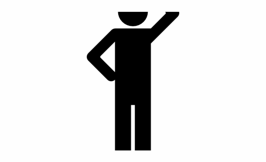 People Silhouette Clipart Single Person.