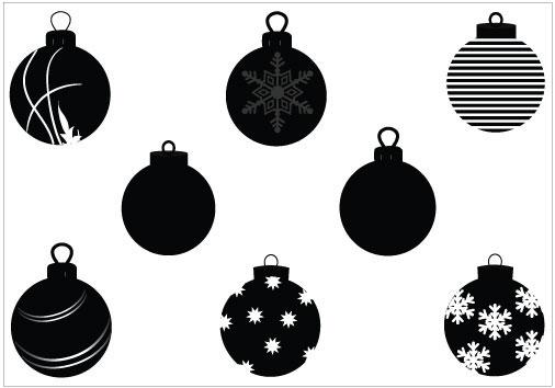 Christmas ornament Vector Graphics.