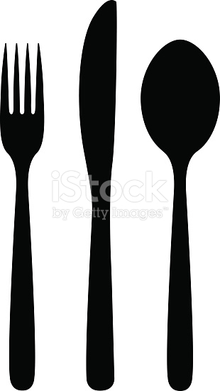 Knife Fork And Spoon stock vector art 466557824.