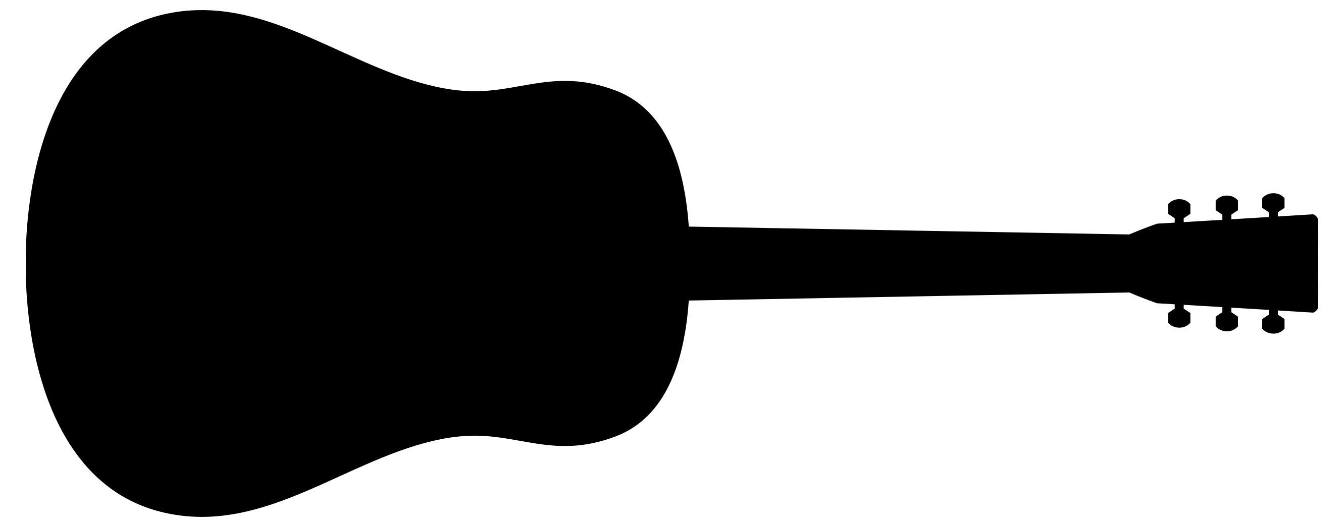Guitar Silhouette at GetDrawings.com.