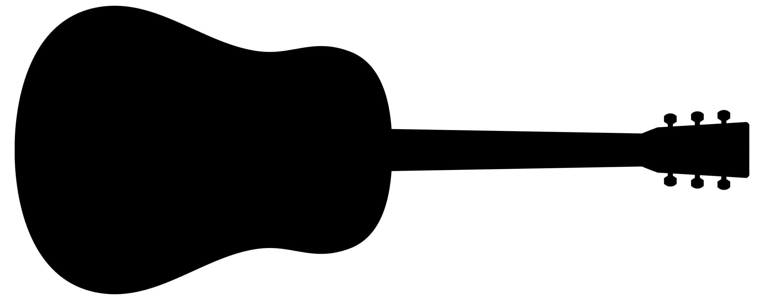Guitar Silhouette at GetDrawings.com.