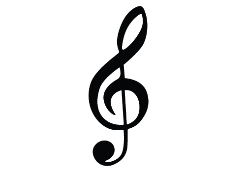 Music Notes Silhouette Vector Download Silhouette Graphics.