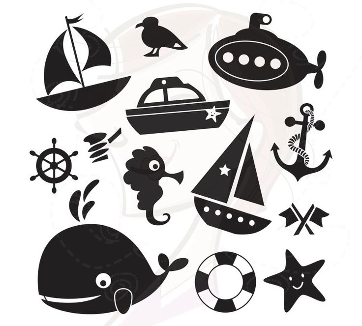 411 best images about * Nautical Silhouettes, Vectors, Clipart.