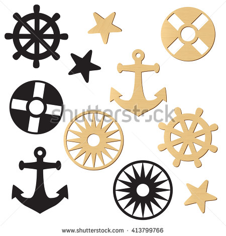 Nautical Clip Art Stock Images, Royalty.
