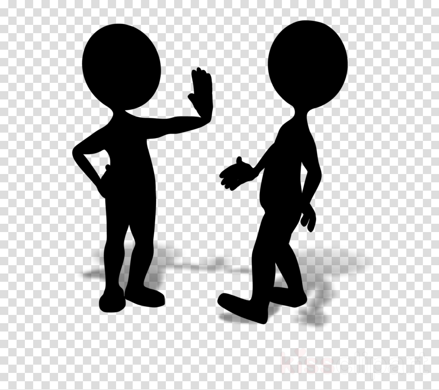 People Silhouette clipart.