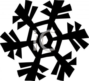 Snowflake Design Element.