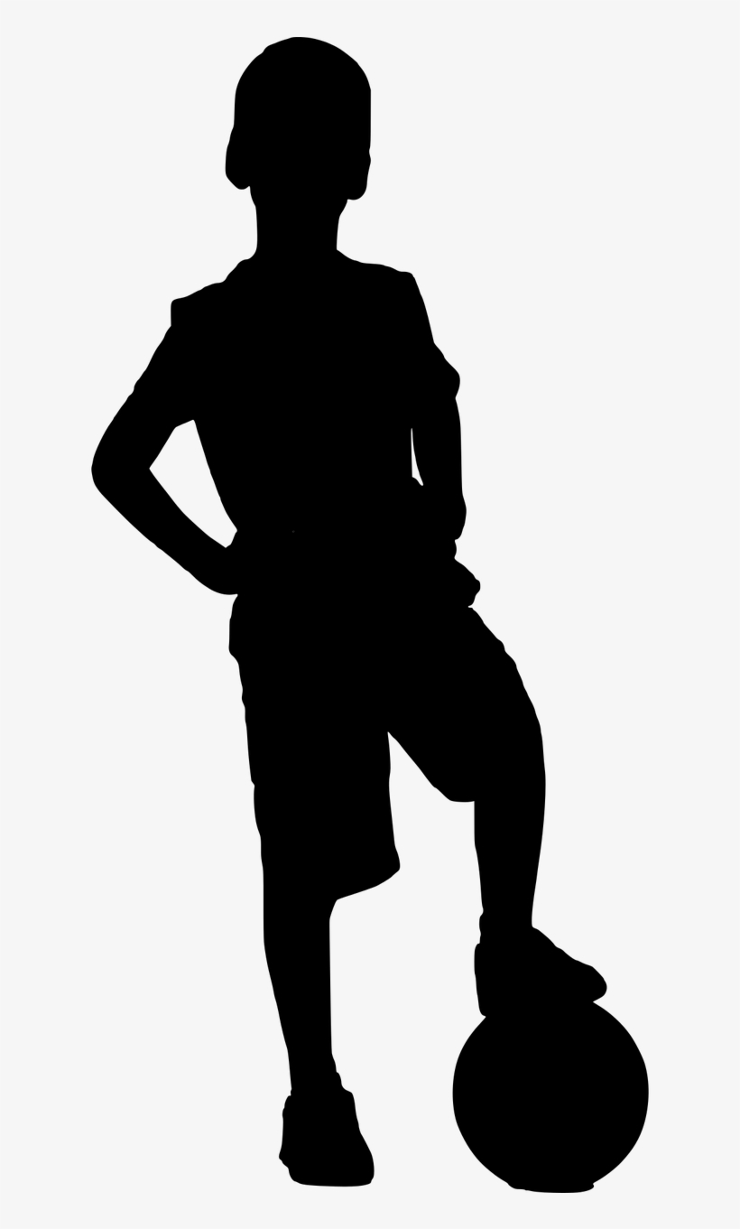 Child Silhouette Clipart Transparent Background.