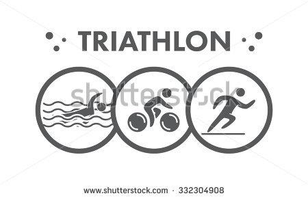 Triathlon Stock Images, Royalty.