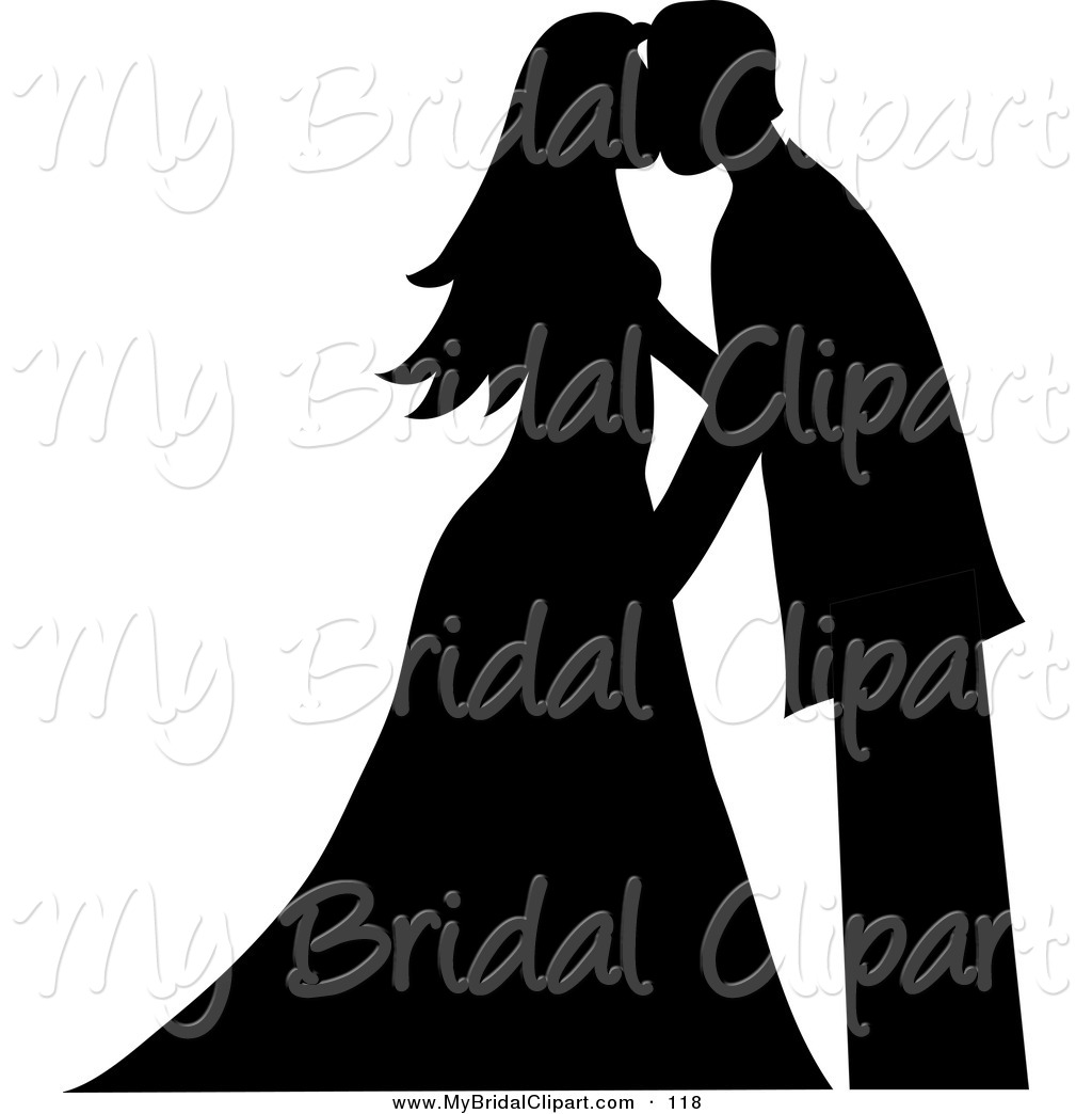 Royalty Free Silhouette Stock Bridal Designs.
