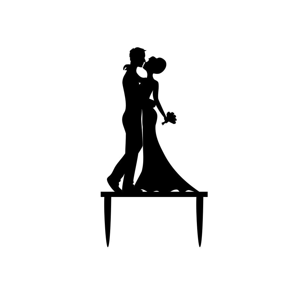Wedding Silhouette.