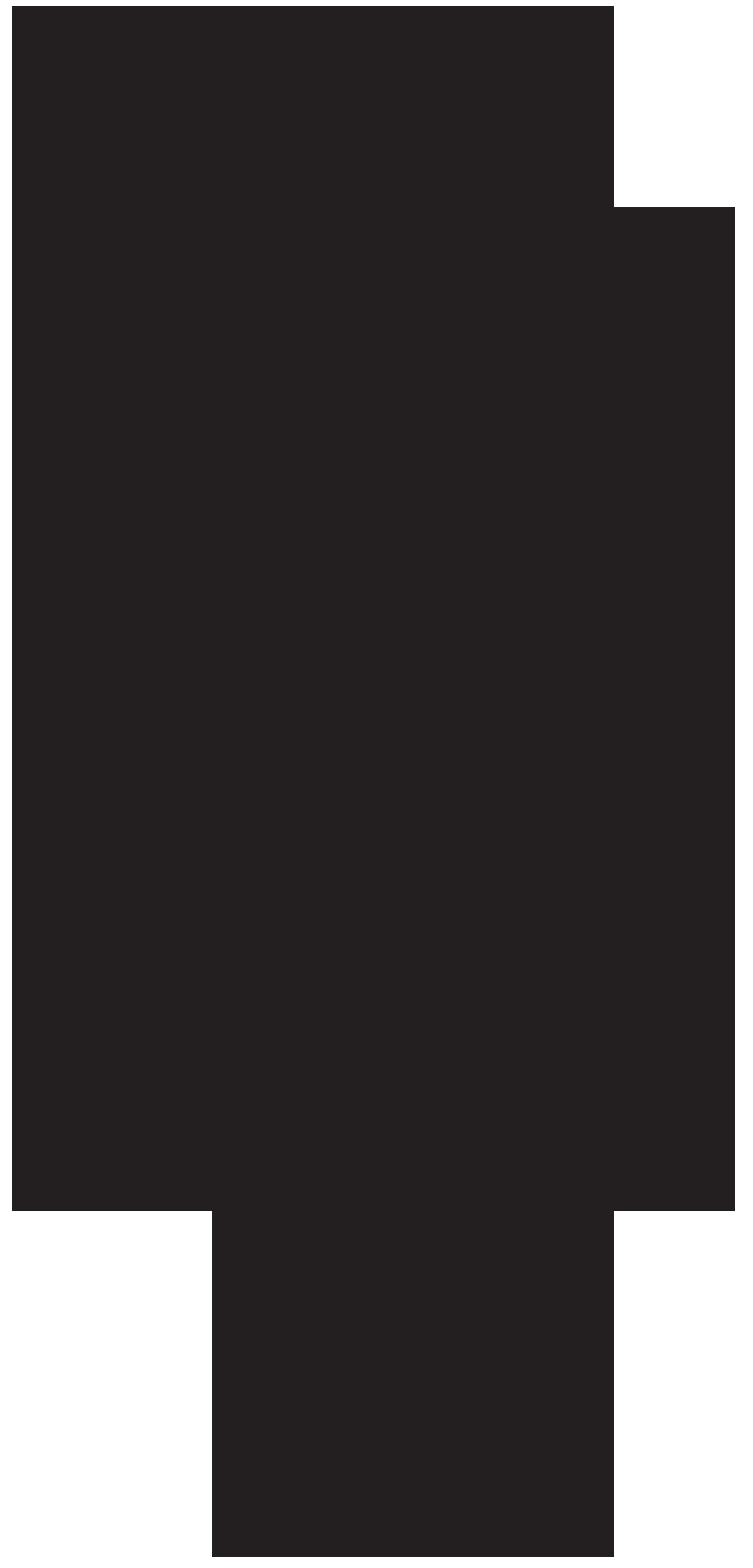 Cowboy Silhouette PNG Clip Art Image.