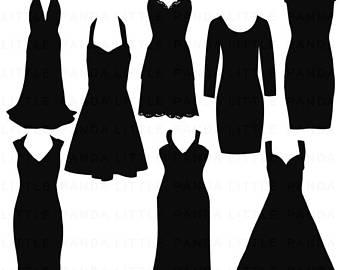 Silhouette dress.