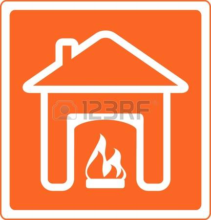 4,014 Fireplace Icon Stock Illustrations, Cliparts And Royalty.