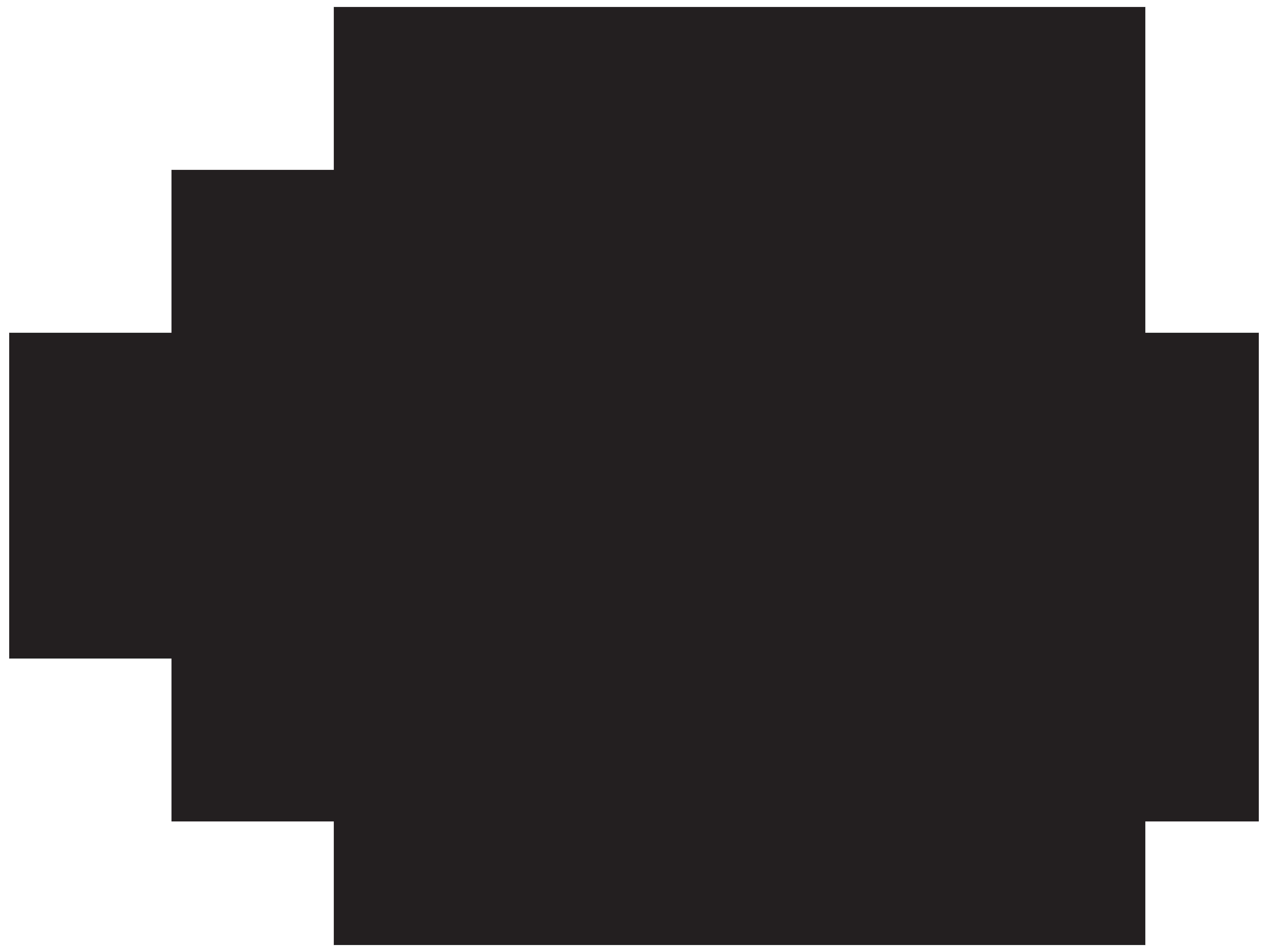 Silhouette Fish Clip art.