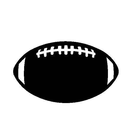 Football Silhouette.