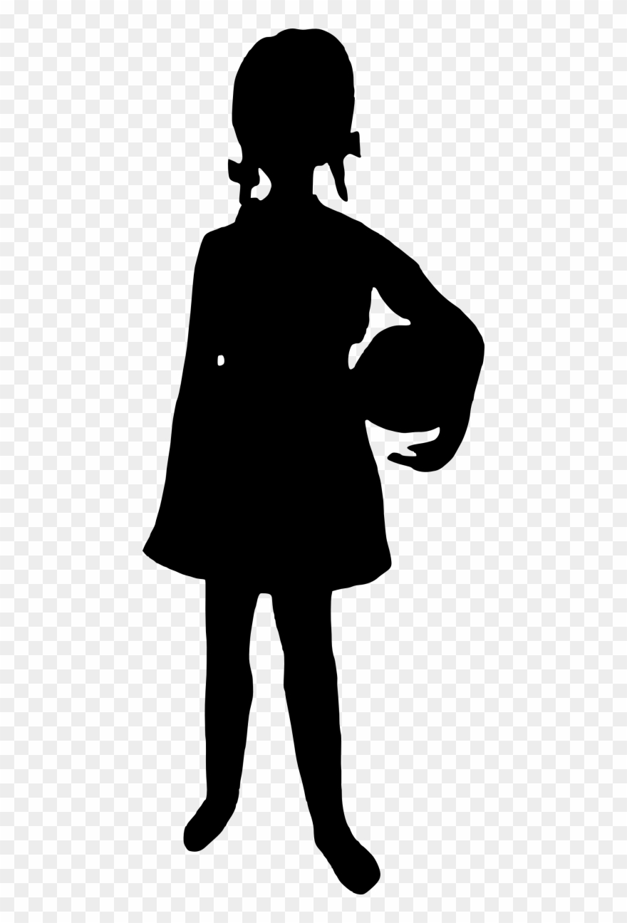 Girl Silhouette Png.