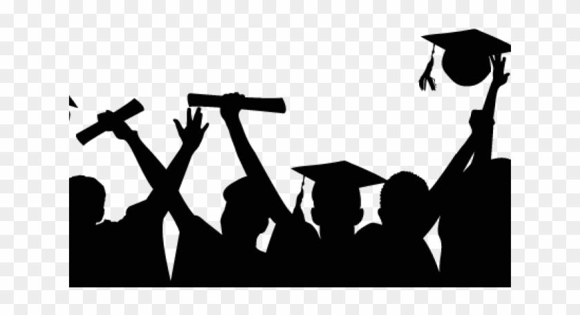 Graduation Clipart Silhouette.