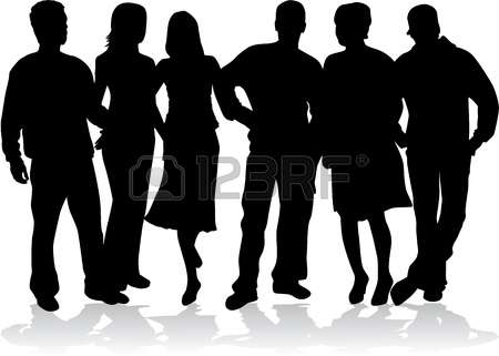 50,363 Friends Silhouette Stock Illustrations, Cliparts And.