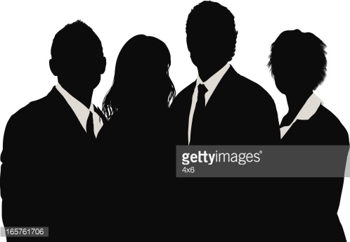 Silhouette People Group Clip Art Pictures to Pin on Pinterest.