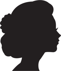 12119 female head silhouette clip art free.