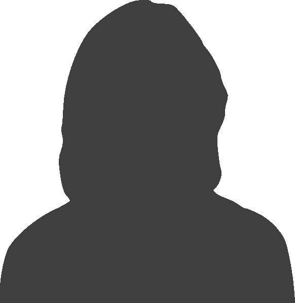Woman Headshot Silhouette Grey Clip Art at Clker.com.