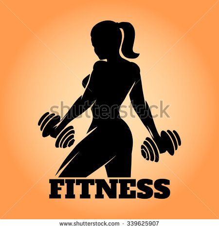 Female Fitness Stock Vectors, Images & Vector Art.