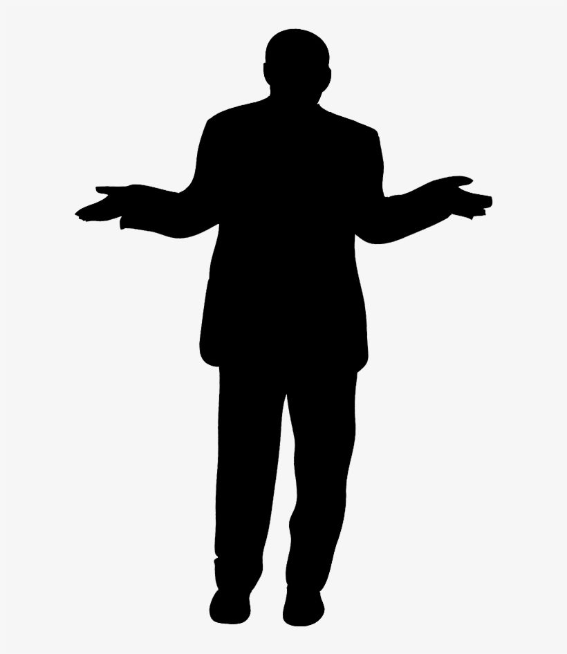 Silhouette Man Png.