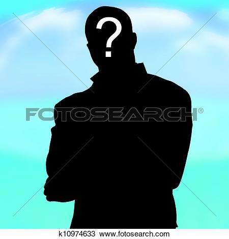 Stock Photo of Unknown, who, nobody, shade, man, k10974633.