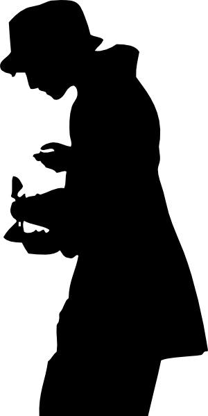 person clipart silhouette.