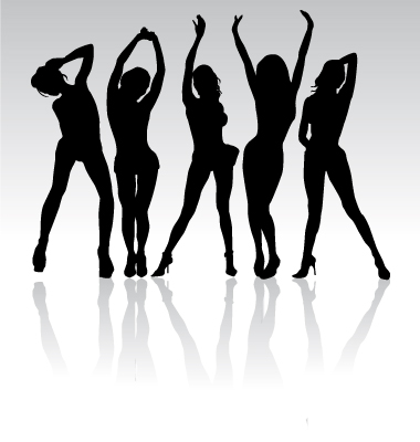 Gallery For > Plus Size Woman Silhouette Clipart Free.