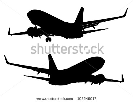 Boeing Silhouette About Stock Photos, Royalty.