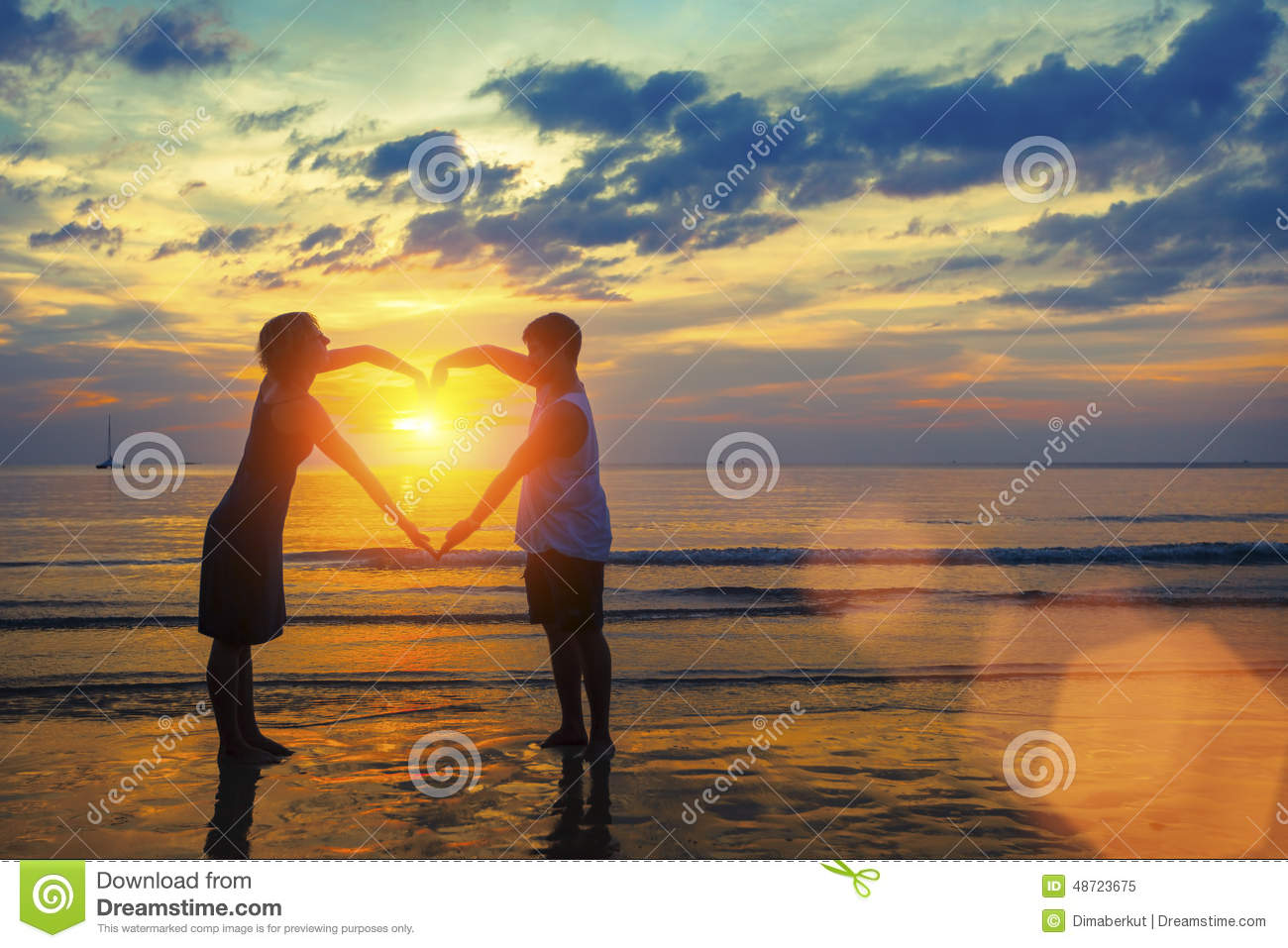 Sunset Heart Hands Stock Photos, Images, & Pictures.