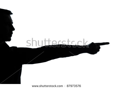 Point Silhouette Stock Images, Royalty.