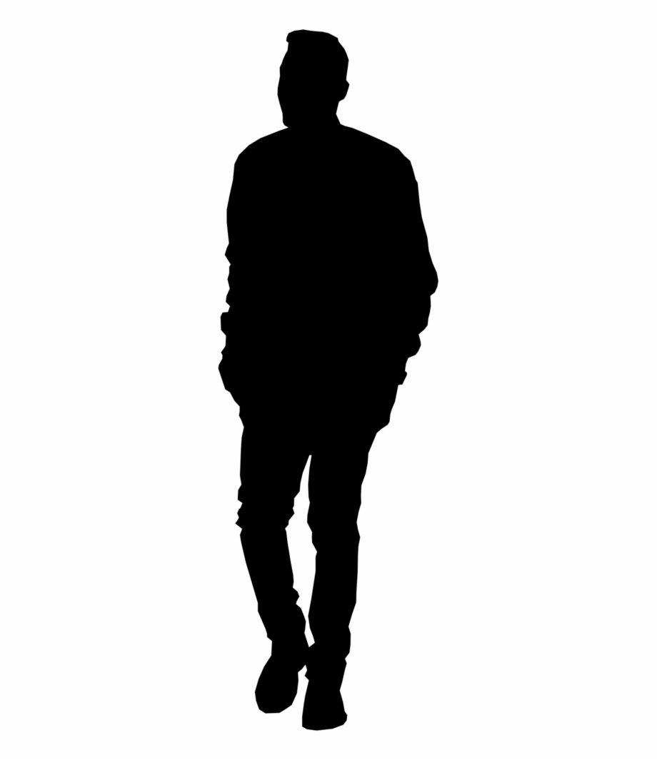 Silhouette Person Png.