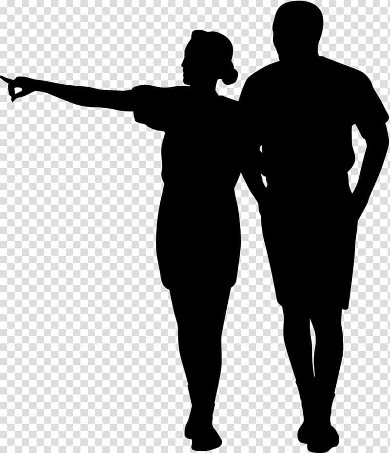Silhouette Drawing , Silhouette transparent background PNG.