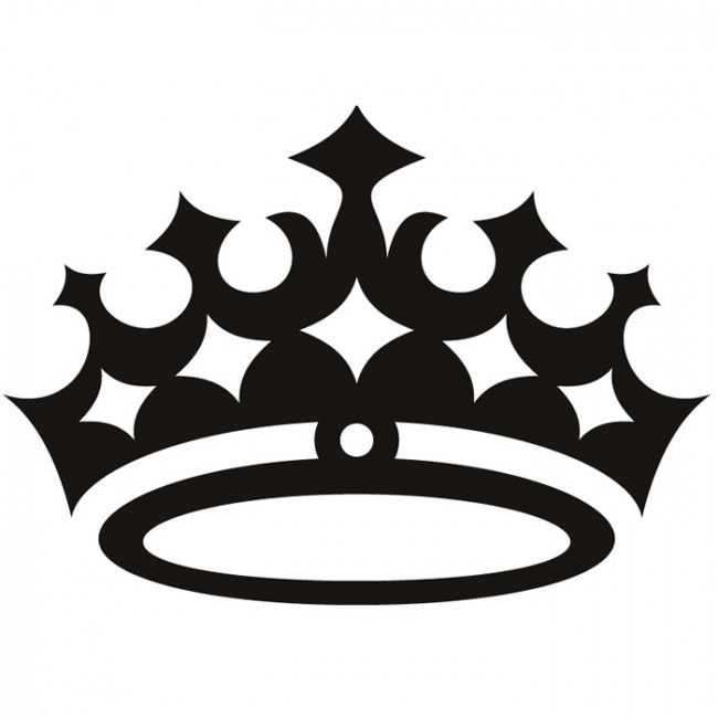Silhouette Queen Crown.