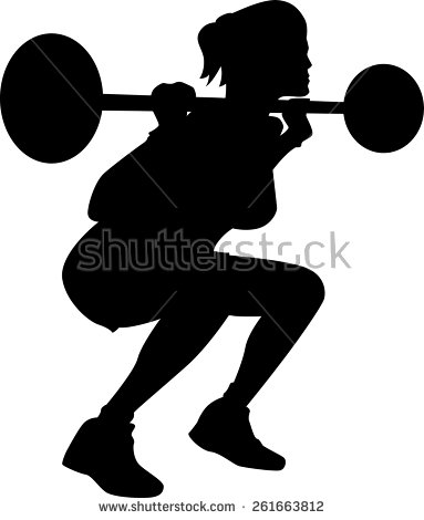 Weight Lifting Stock Images, Royalty.