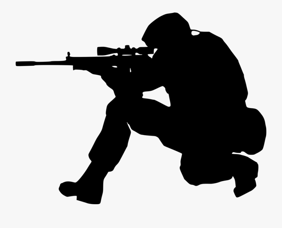 Silhouette Soldier.