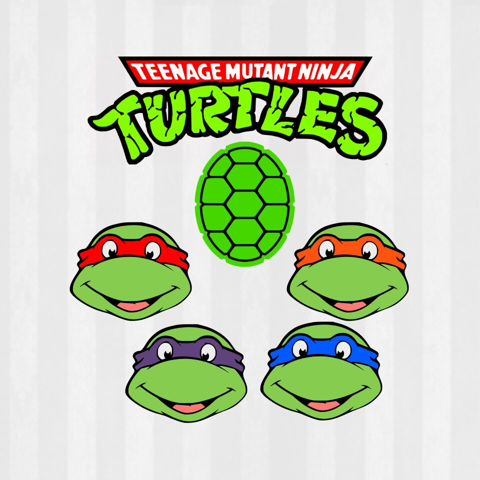 TMNT SVG Files bundle, SVG Files, png Files, tmnt clipart, teenage.