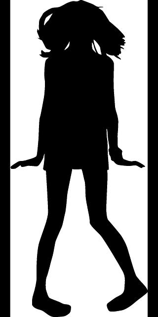 Free vector graphic: Girl, Teenager, Teen, People.