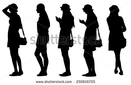 nude teen girl silhouette