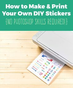 Let's learn how to make stickers with Silhouette Cameo and Clipart.