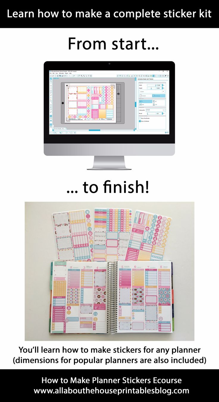 25+ best ideas about Make Your Own Stickers on Pinterest.