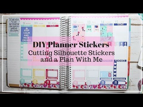 Stickers, Create your own planner and Silhouette on Pinterest.