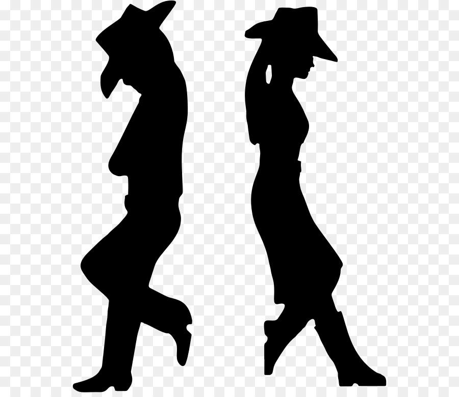 Cowboy Silhouette Western Clip Art.