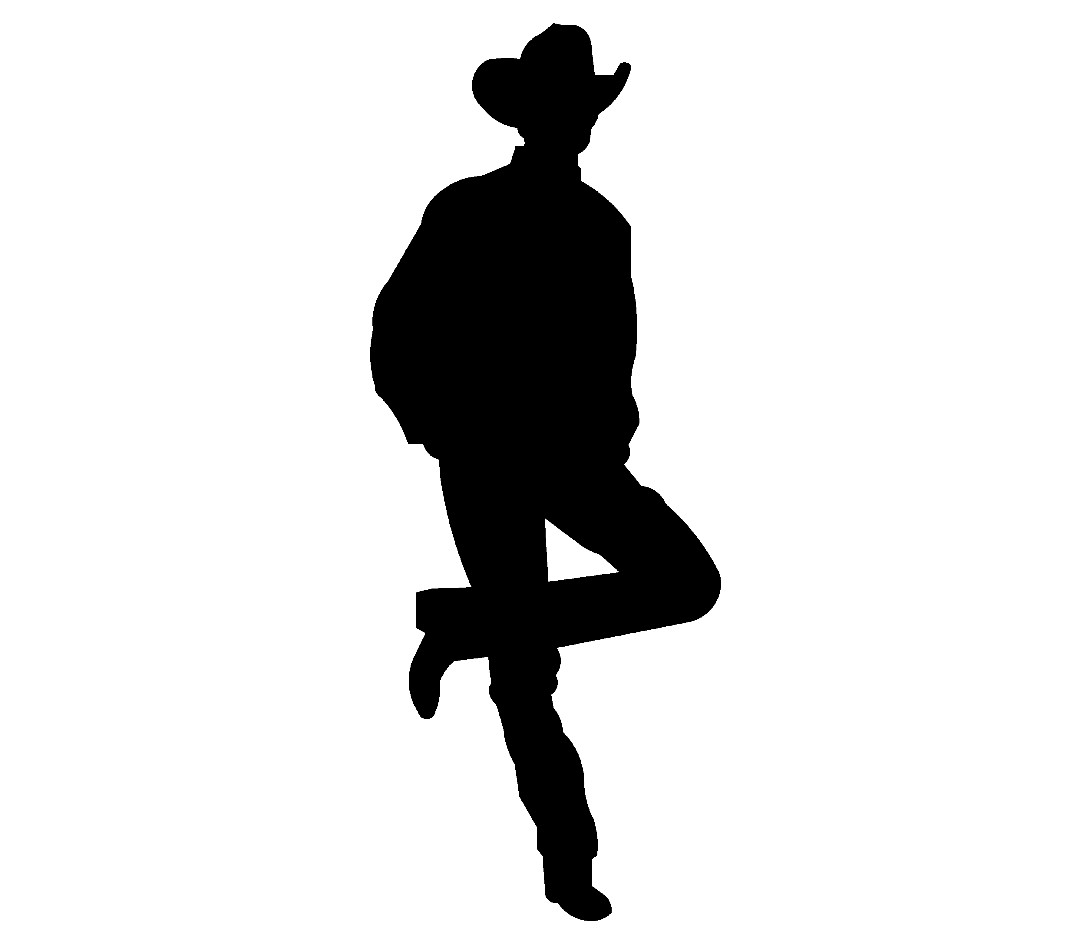 Free Cowboy Silhouette, Download Free Clip Art, Free Clip.