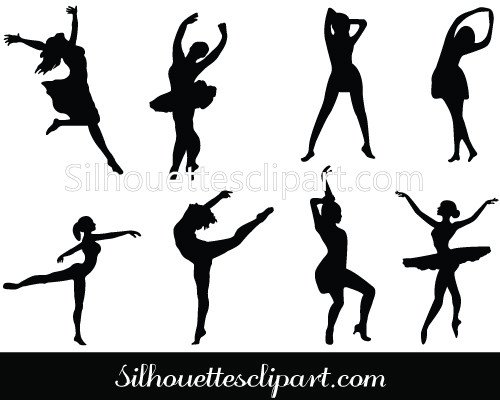 Silhouettes clipart #3