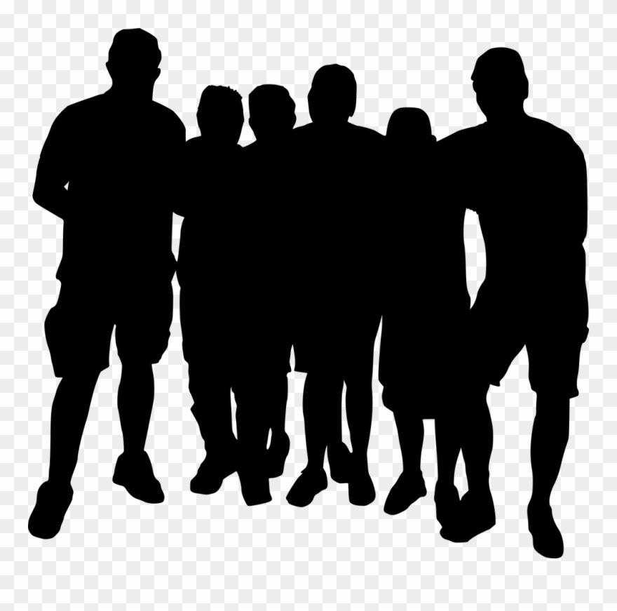 10 Group Photo Silhouette.